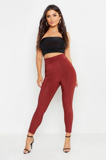 Womens Chocolate Disco Super Stretch Legging