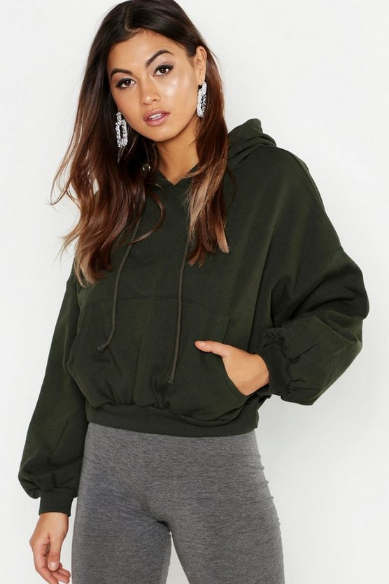 Slouch Over Head Hoody