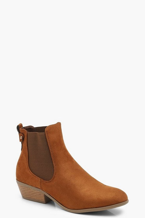 Western Chelsea Boots