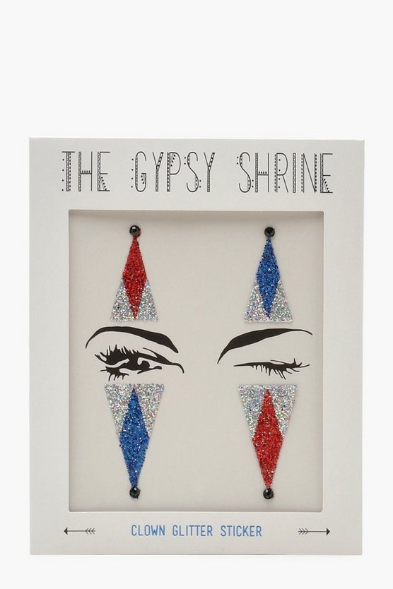 Gypsy Shrine Face Clown Sticker