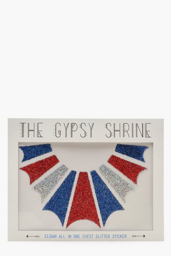 Gypsy Shrine Body Clown Sticker