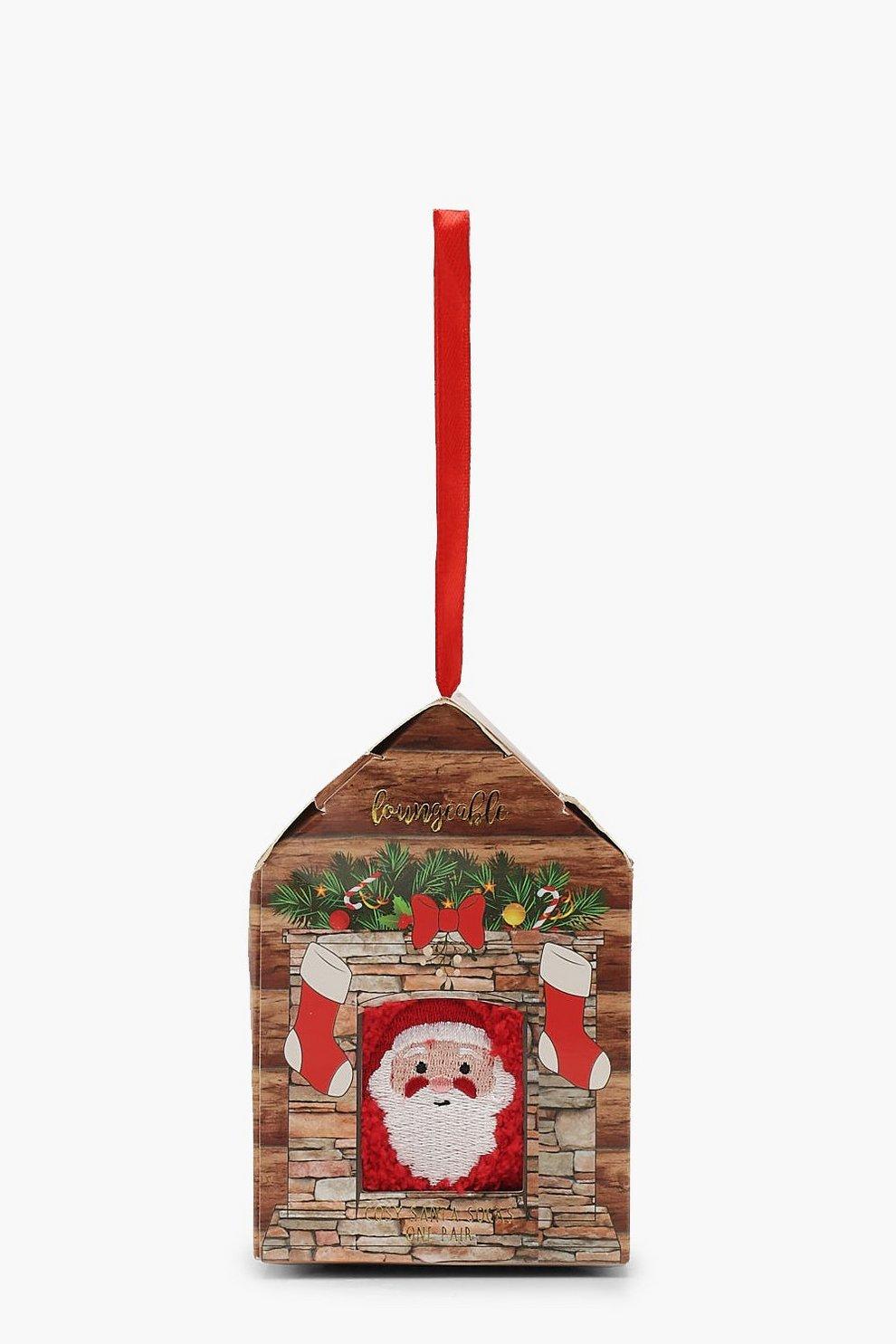 Weihnachten Santa Socken Geschenkverpackung | Boohoo