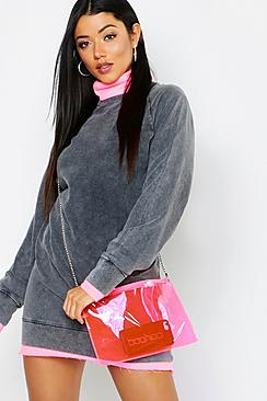 Neon Zip Top Cross Body