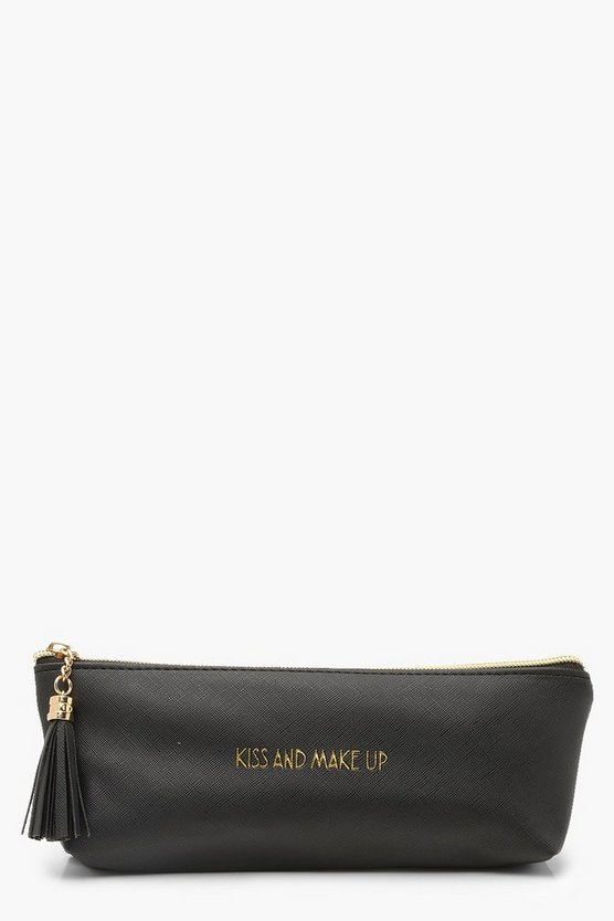 Shine Bright Make Up Bag, Black, Женские