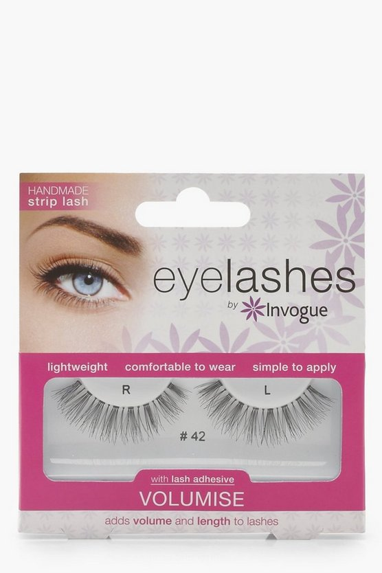 Womens Black Invogue Eyelash Volumise #42