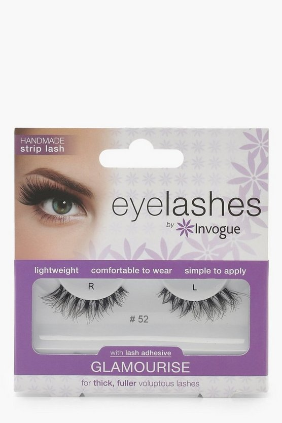 Womens Black Invogue Glamorise Lashes #52
