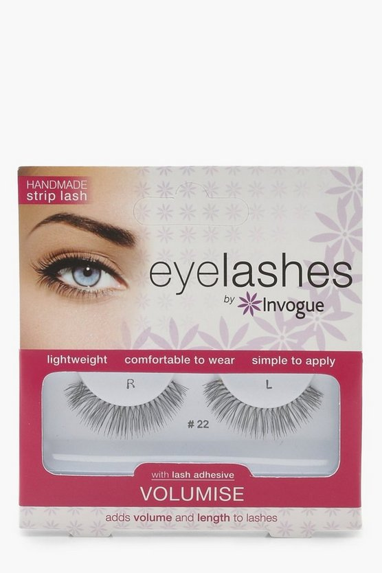 Womens Black Invogue Volumise Lashes #22