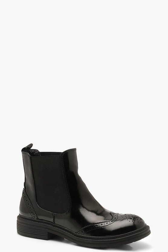 Chelsea Boots With Sports Tape
