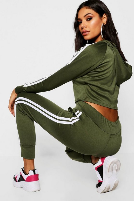 Side Stripe Tracksuit