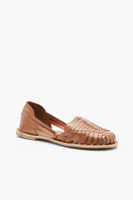 Leather Woven Ballets