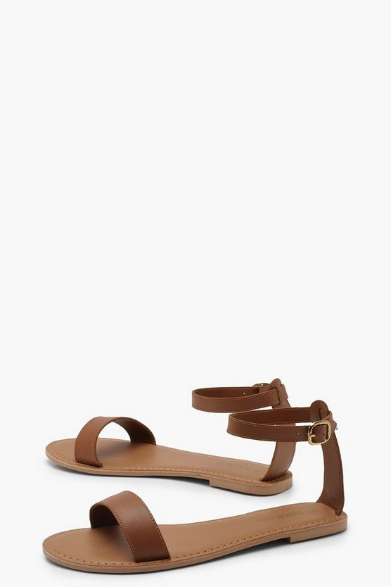 Two Part Leather Sandals