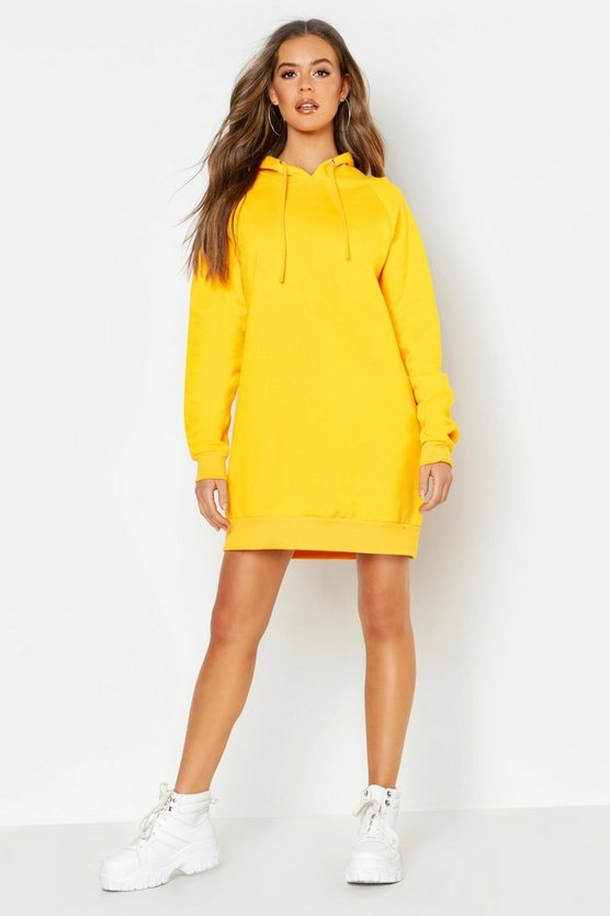 The Perfect Oversized Hooded Sweat Dress