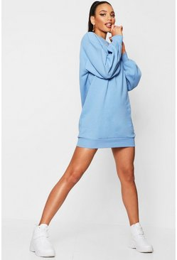 Womens Sky The Perfect Oversized Volume Sleeve Sweat Dress