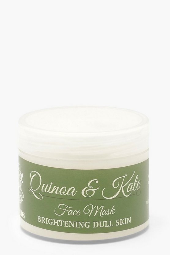 Natural Quinoa And Kale Face Mask
