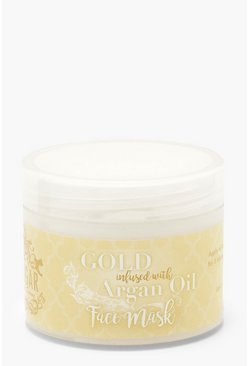 Womens Luxury Gold Face Mask With Argan Oil