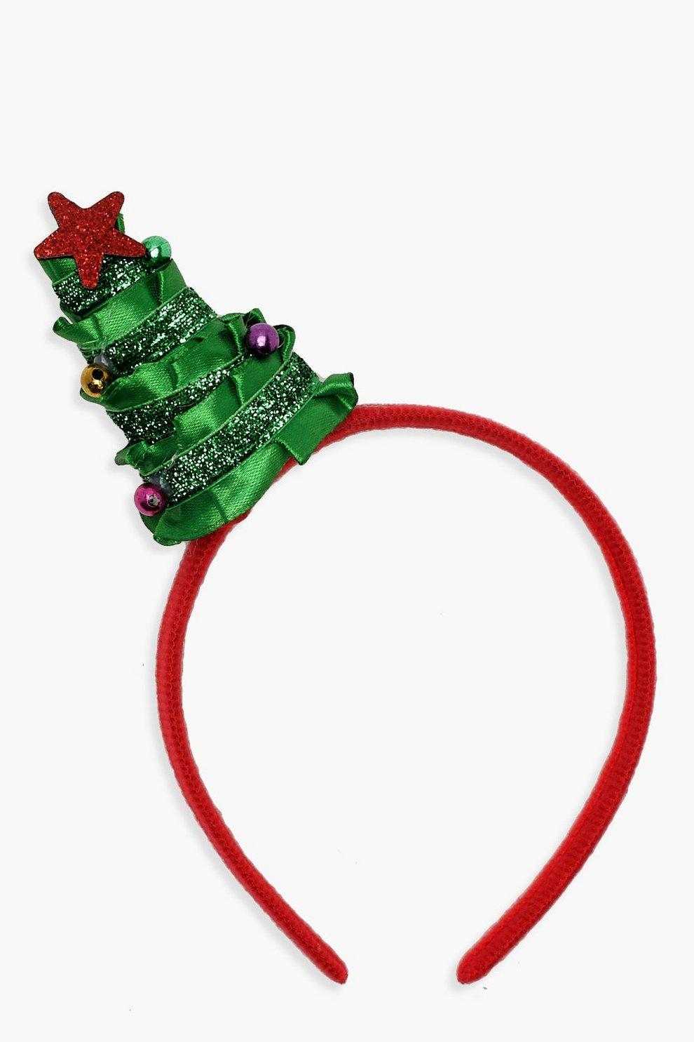 meilleur service mode meilleure qualité pour Bandeau pour cheveux ruban & guirlande d'arbre de Noël   Boohoo