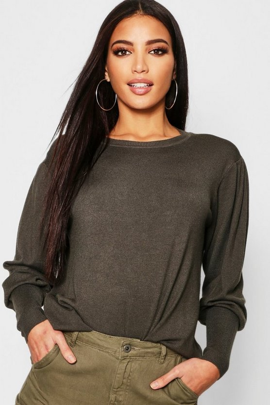 Batwing Slouchy Jumper