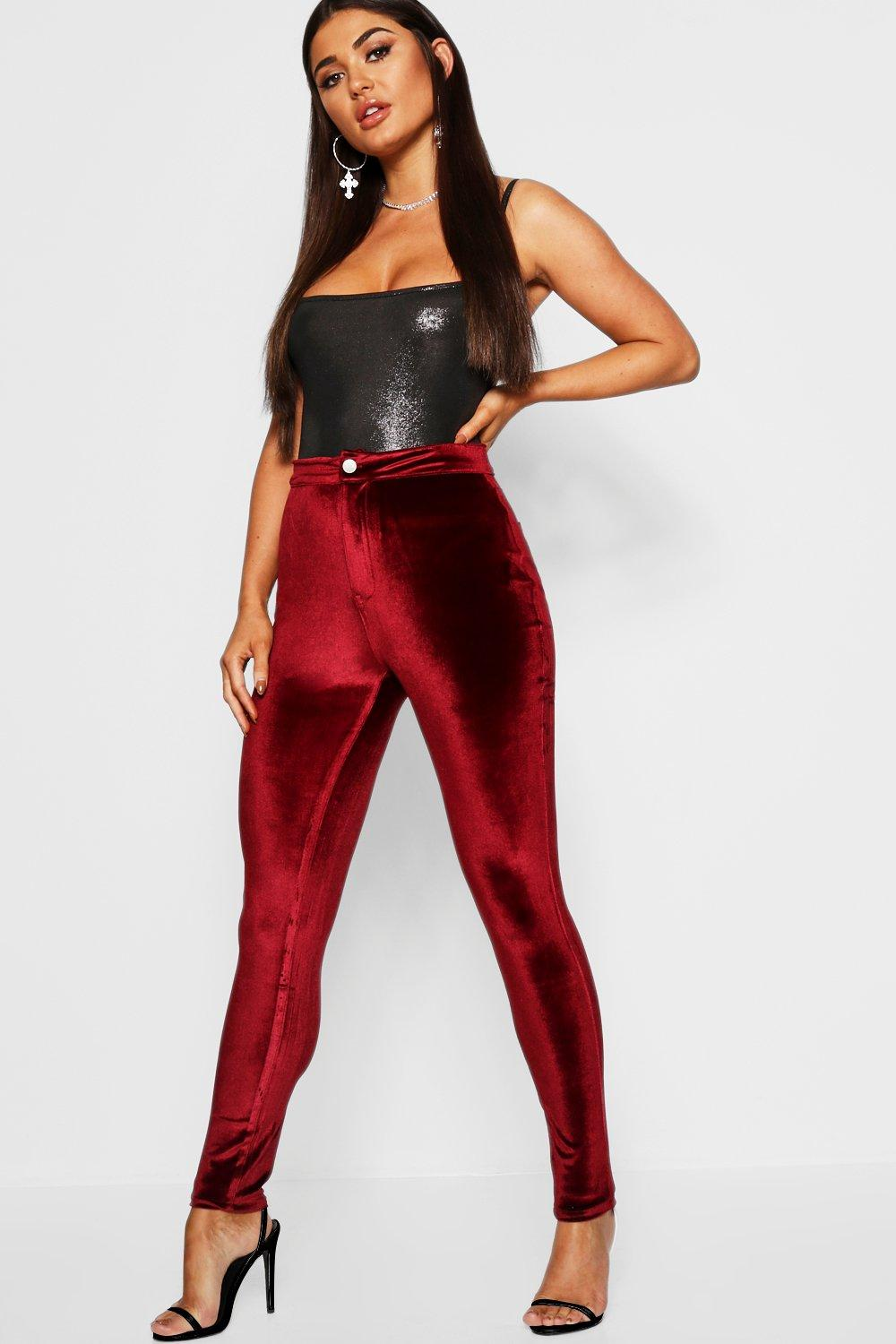 Lara Stretch Velvet Disco Jean