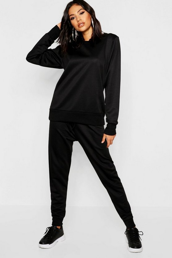 Crew Neck Oversized Sleeve Jogger Set