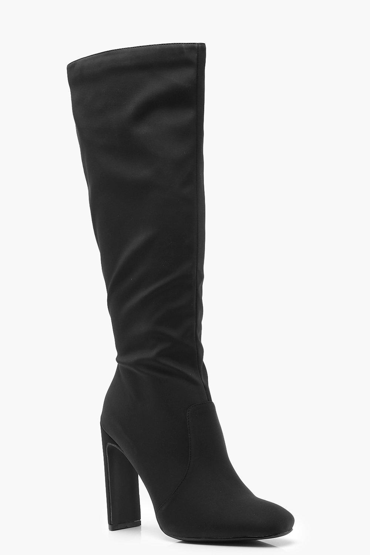 Flat Heel Knee Boots