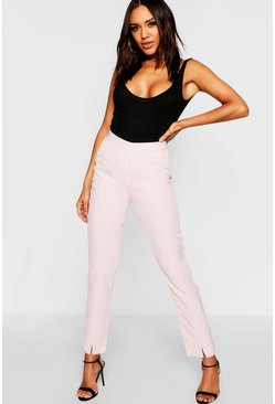 Womens Baby pink Tailored Trouser