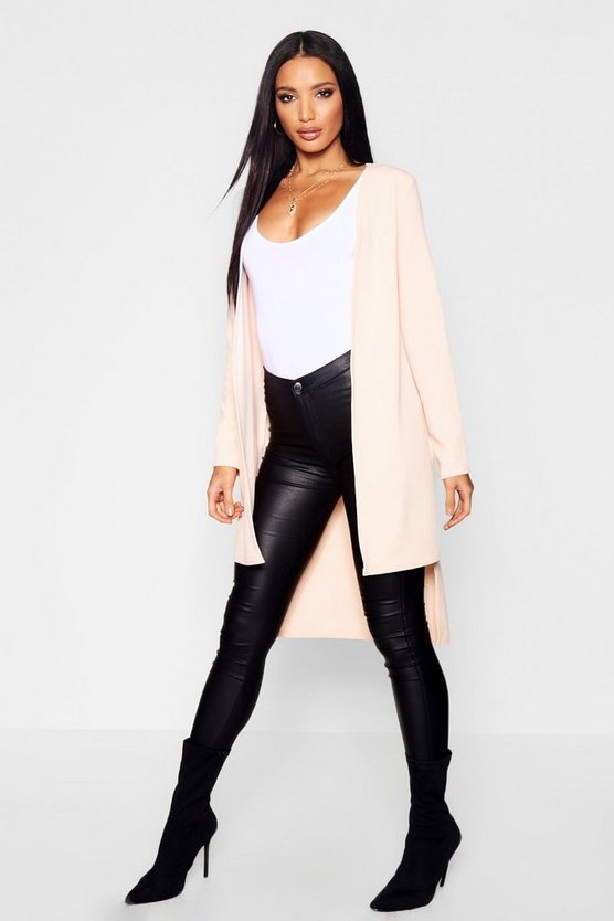 Step Back Hem Duster