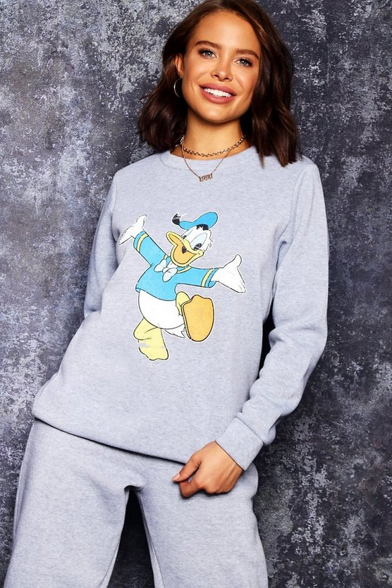 Disney Donald Print Sweat