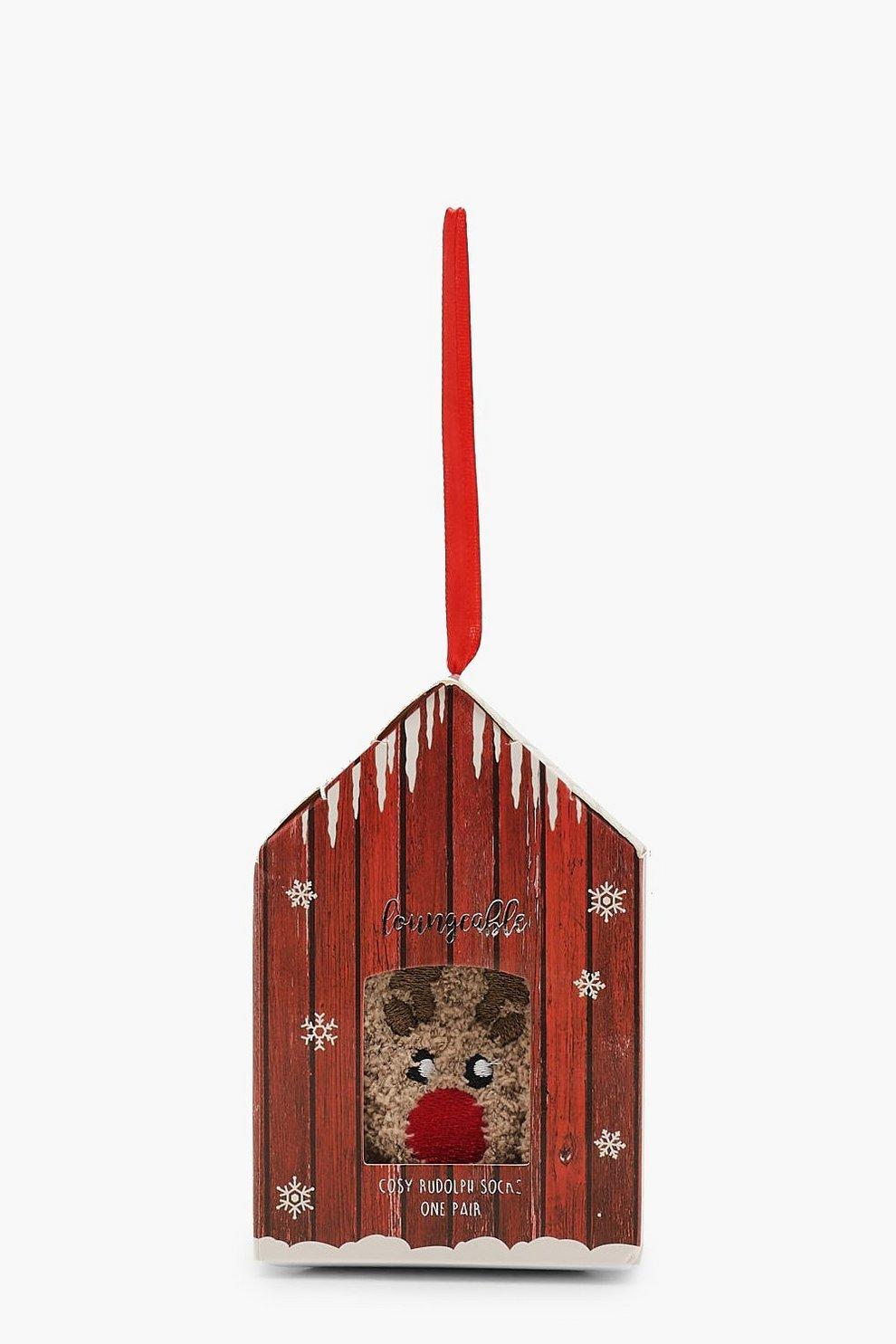 Weihnachten Rudolph Socken Geschenkverpackung | Boohoo