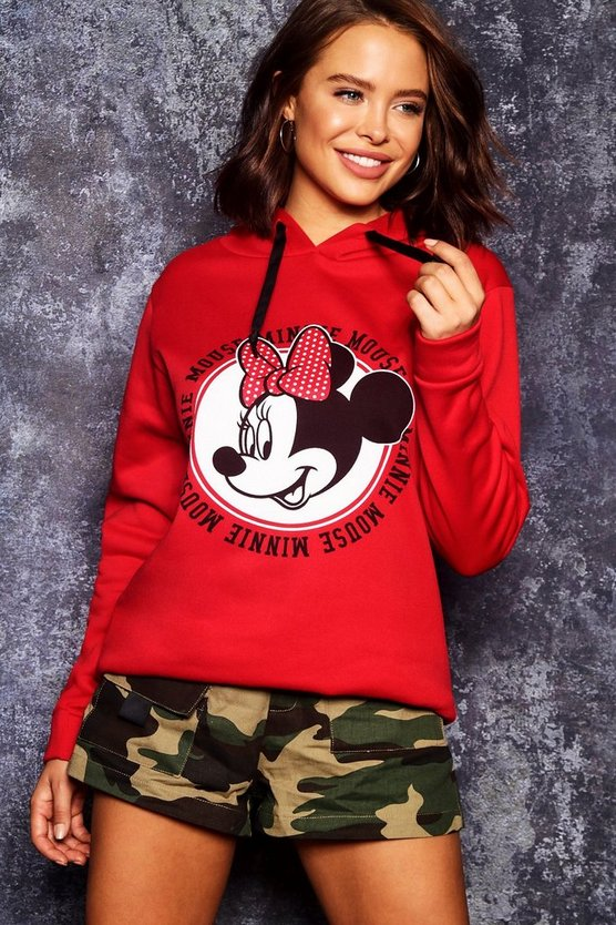 Disney Minnie Mouse Graphic Hoodie