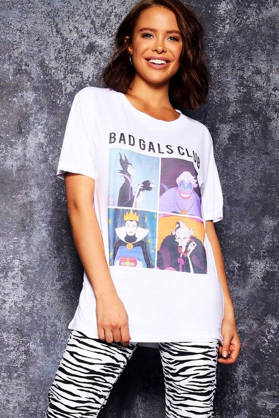 Camiseta de Bad Gals de Disney