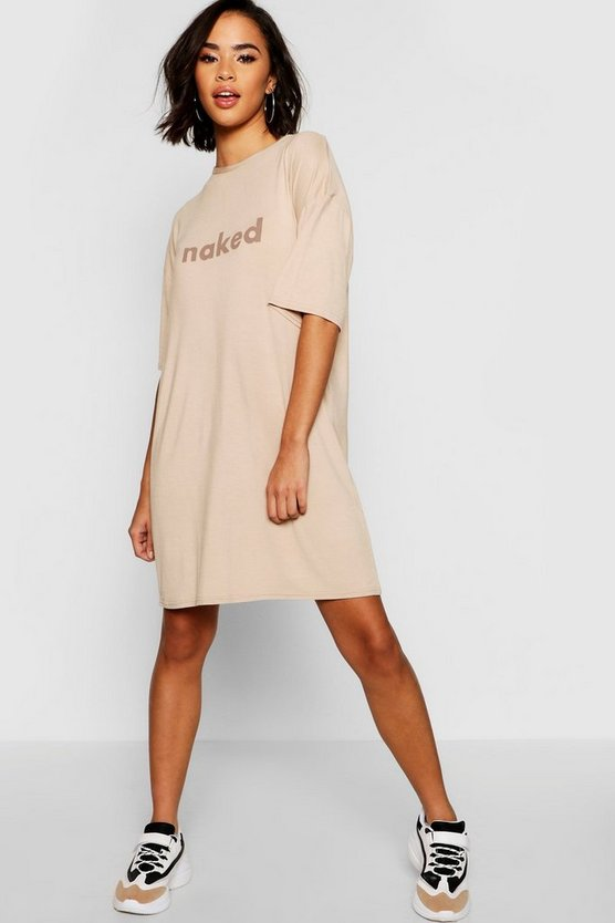 Naked Oversized T-Shirt Dress