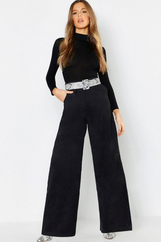 Cord Wide Leg Trousers