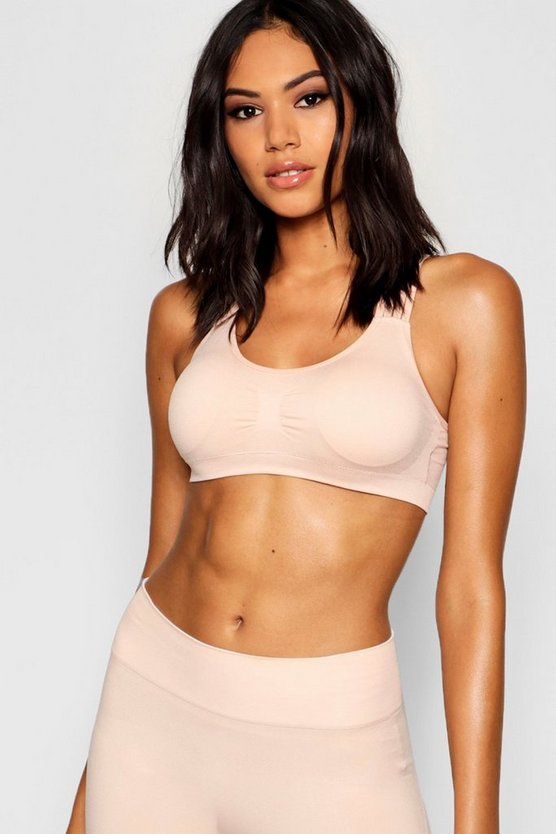 Womens Mink Fit Seamfree Yoga Bra