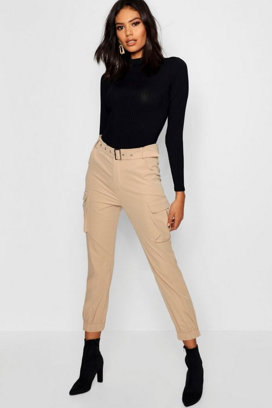 Belted Cargo Trouser