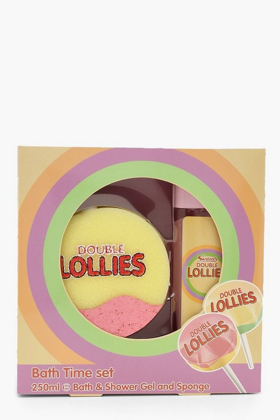 Swizzles Double Lollies Bath Set