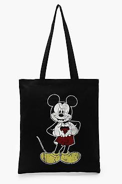 Disney Mickey Heart Hands Tote