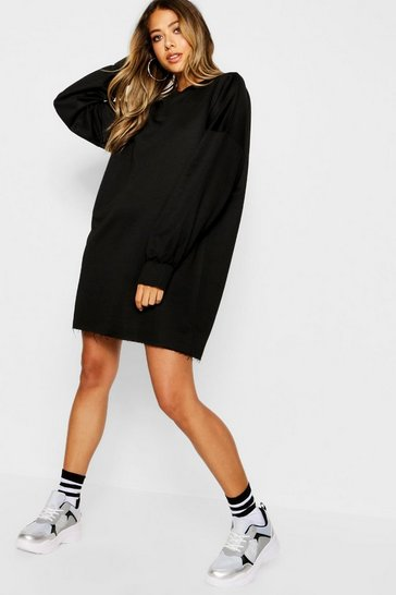 Black The Perfect Oversized Sweat Dress