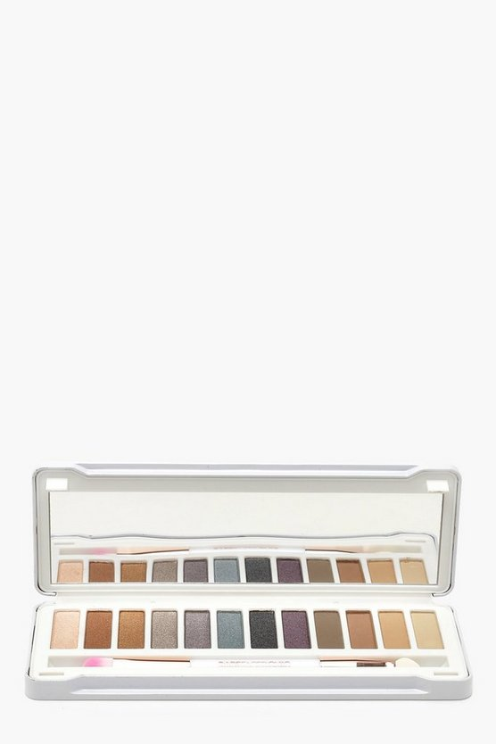 Womens White Bare Faced Smokey Eye Palette