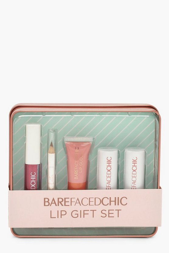 Bare Faced Chic Lippen Geschenk Set