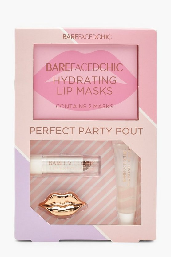 Womens Pink Bare Faced Chic Perfect Party Pout