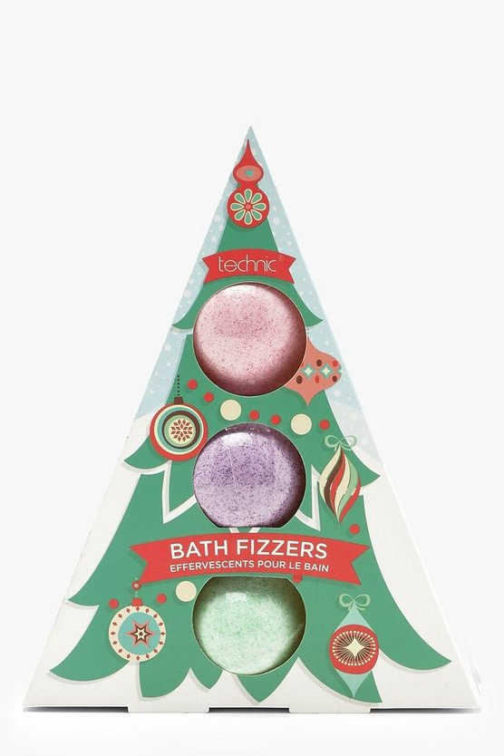 3 Christmas Novelty Bath Fizzers