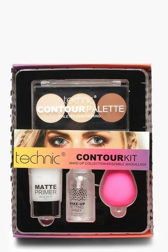 Womens Black Technic Contour Kit
