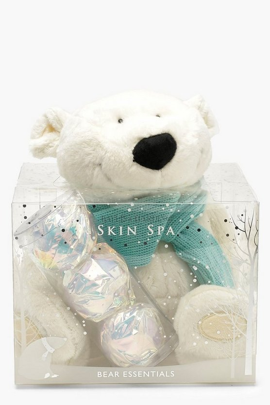 Womens White Baylis & Harding Bear And Fizzers Set
