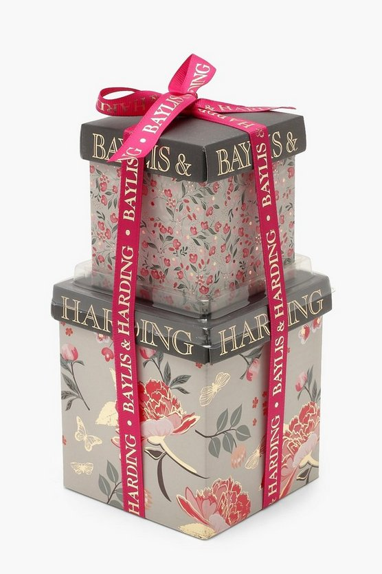 Womens Pink Baylis & Harding Royale Bouquet Mini Stack Set