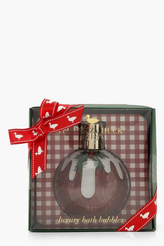 Womens Red Baylis & Harding Winter Wonderland Bath Bauble