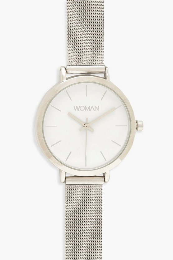 Classic Metal Mesh Bracelet Watch