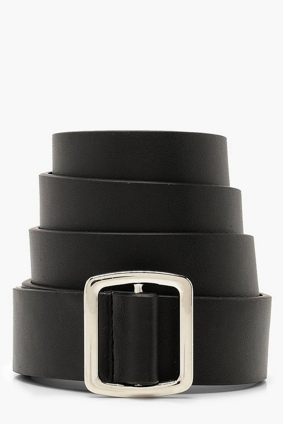 Square Buckle Boyfriend Belt