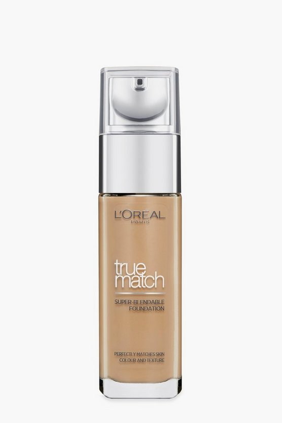 L'Oreal Paris True Match Foundation-Golden Cappucino