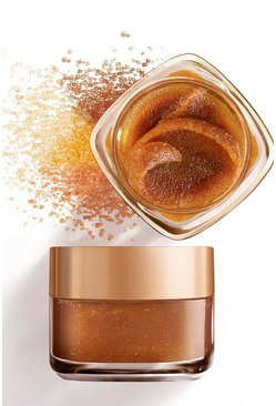Womens Bronze L'Oreal Paris Smooth Sugar Face & Lip Scrub