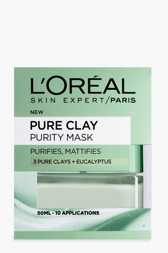 Womens L'Oreal Paris Pure Clay Purity Face Mask